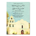 San Diego Mission Alcala Wedding Invitations | Wedding cards Alcala