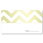 Modern Wedding Place Cards | Modern Chevron