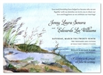 Watercolor Wedding Invitations Nantucket