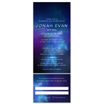 Galaxy Bar Mitzvah Invitations | Night Sky (Star Wars)