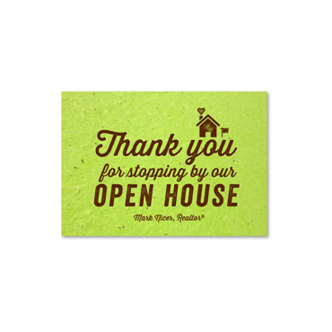 Green Business Thank you notes | Open House