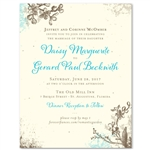 Vintage Wedding Invitations ~ Romantic Garden