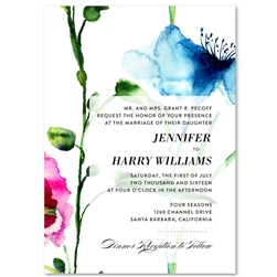Wildflowers Spring Wedding Invitations | Spring Joy