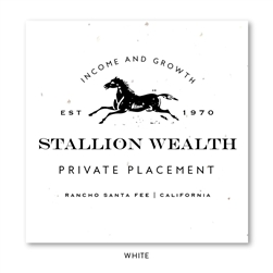 Seeded paper horse business Cards | Stallion (seeded paper)