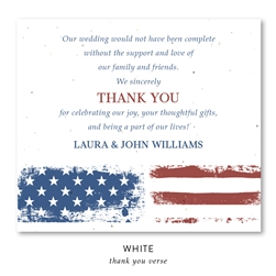 American flag Wedding Favors | Vintage Americana