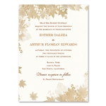 Vintage Fall Wedding Invitations | ForeverFiances