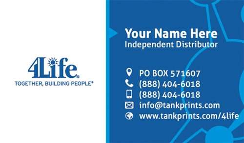 4life business card design 1 colourmoves