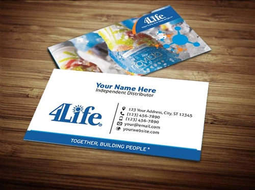 4life business card design 2 accmission
