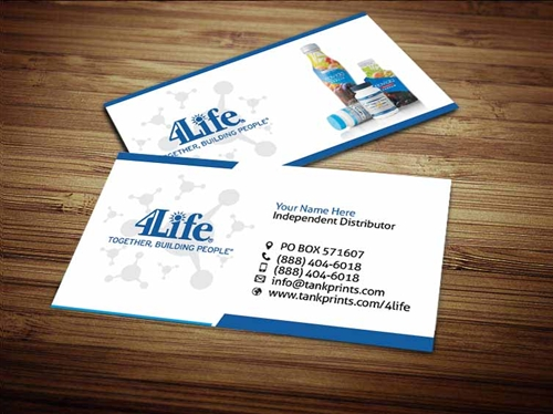 4life business card design 3 fbccfo Choice Image