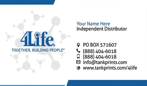 4life business card design 3 reheart Images