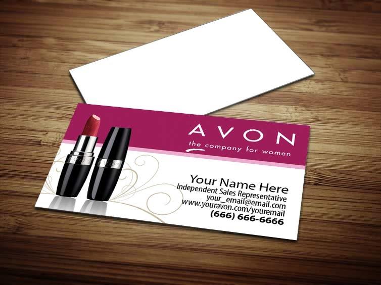 Avon Business Card Design 1