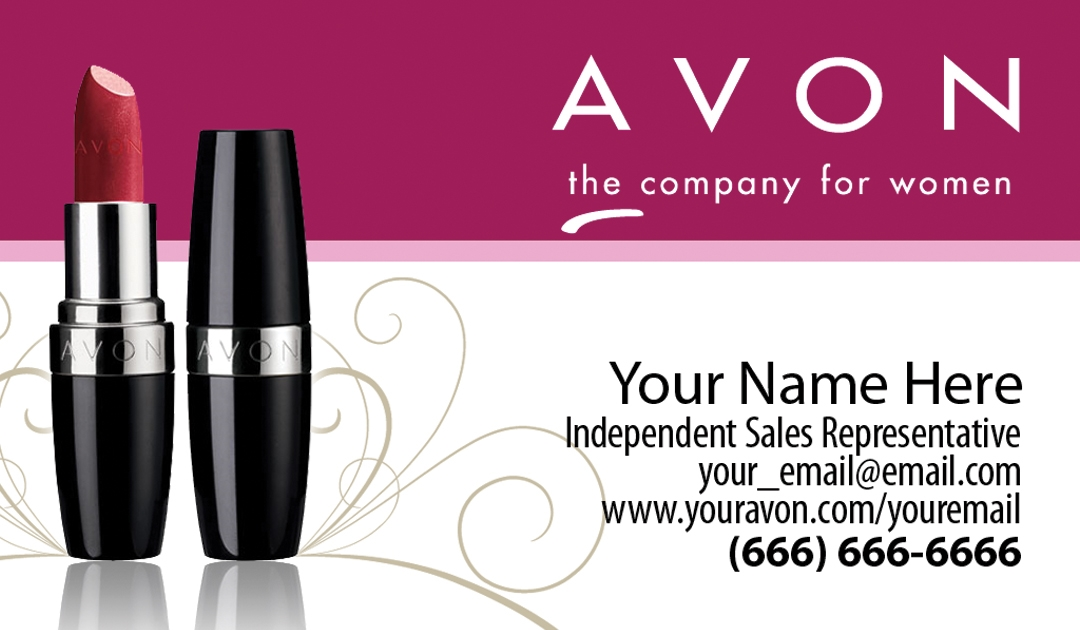 Avon business card design 1 reheart Choice Image