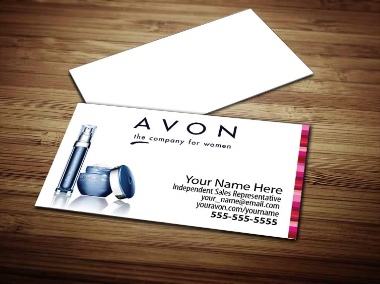 Avon business card design 2 reheart Choice Image