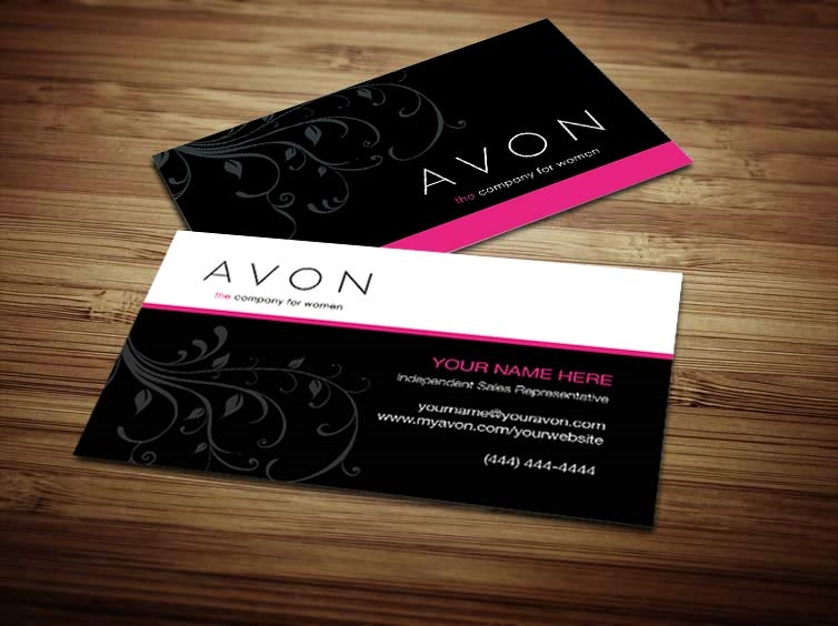 Avon business card design 5 reheart Image collections