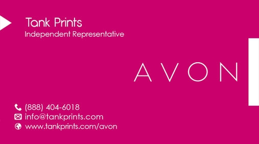 Avon Business Card Design 7
