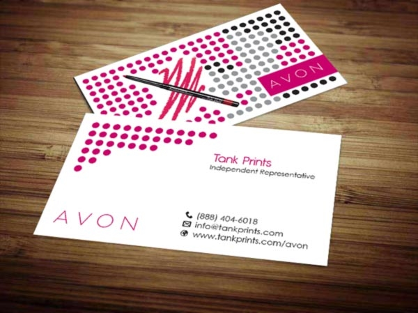 Avon business card design 8 colourmoves