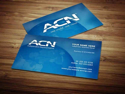 Acn business card design 2 reheart Gallery