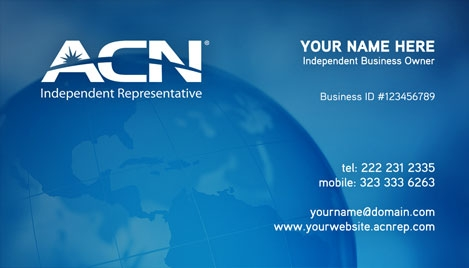 Acn business card design 2 reheart