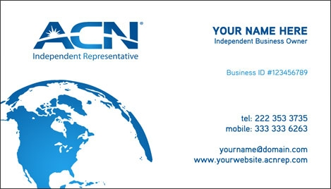 Acn business card design 3 reheart Gallery