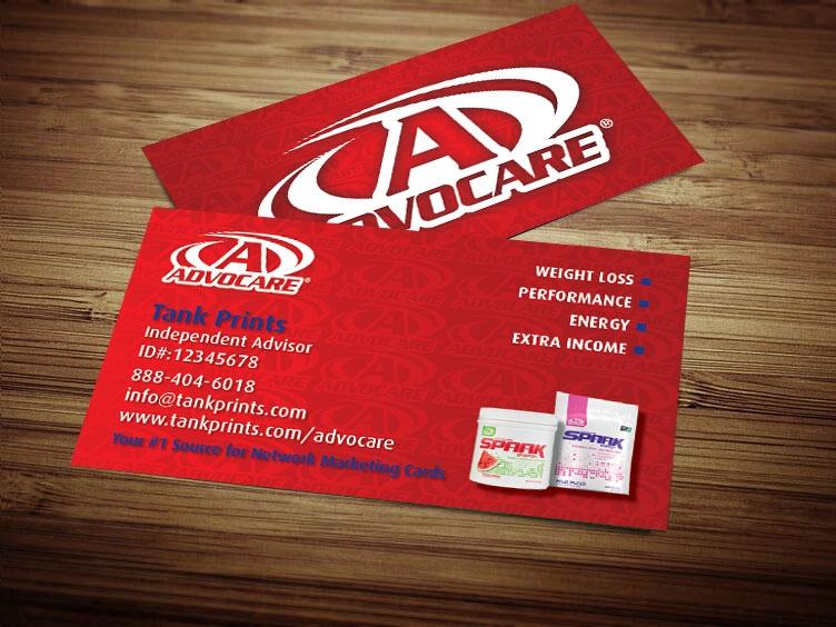 Advocare business card design 1 colourmoves