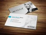 Activlif Business Card Design