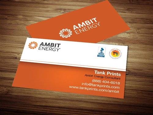 Ambit Energy business cards 1