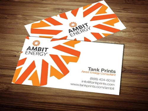 Ambit Energy business cards 2