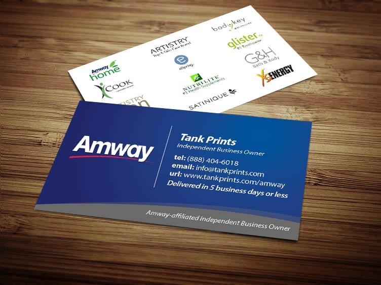 Amway business card design 1 colourmoves