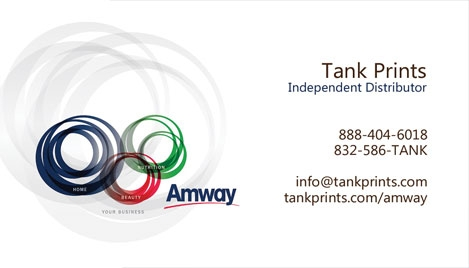 Amway Business Card Design 2