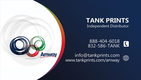 Amway business card design 3 flashek