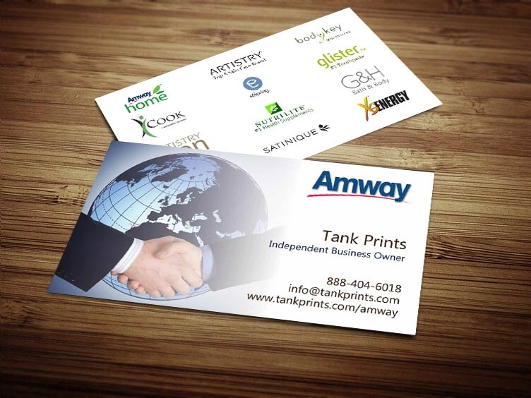 Amway Business Card Design 4