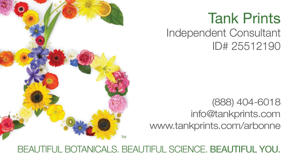 Arbonne Business Card Design 1