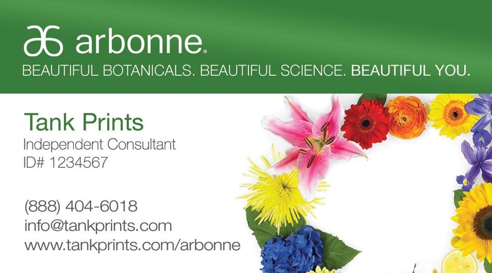 Arbonne Business Card Design 2