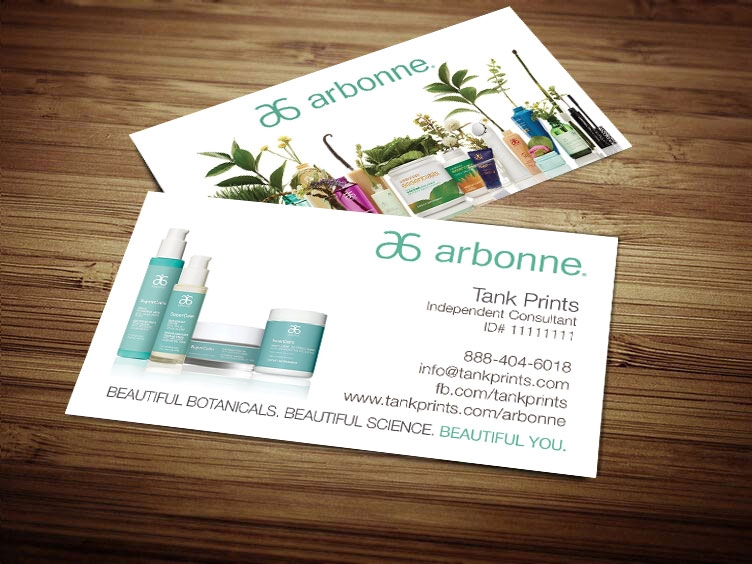 Arbonne business card design 4 reheart Images