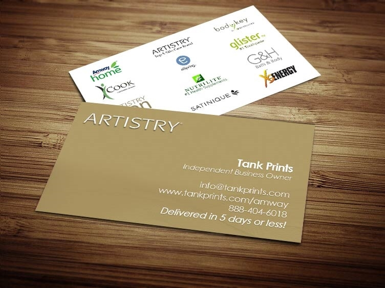 artistry business cards
