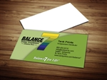 Balance 7 Business Card Templates