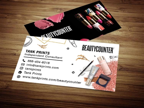 beauty counter business cards template