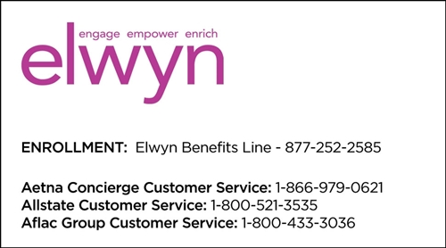 Elwyn Business Cards