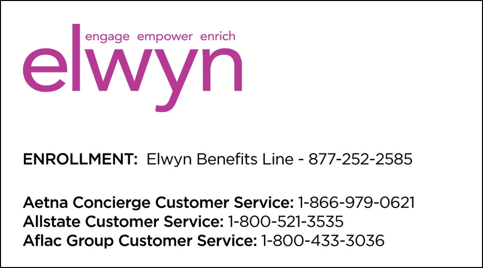 Elwyn service cards reheart Image collections