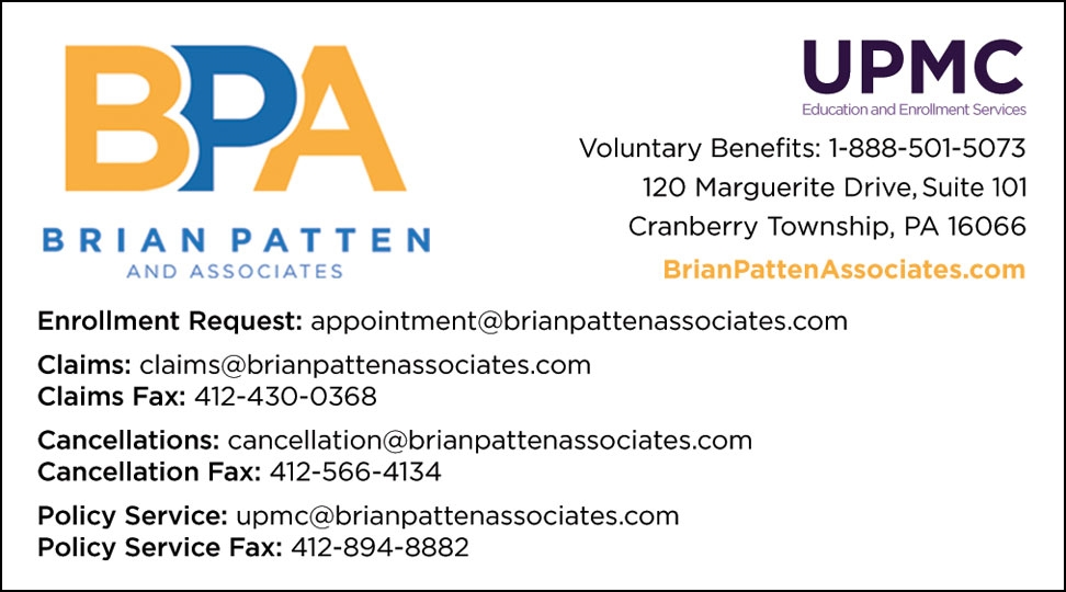 Brian Patten Business Cards