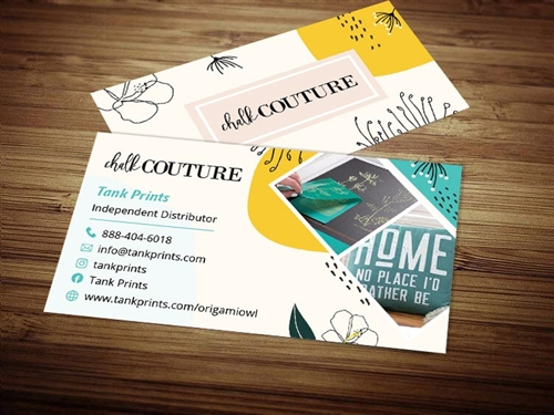 chalkcouture business cards 1