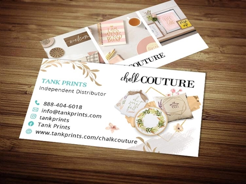 chalkcouture business cards 2
