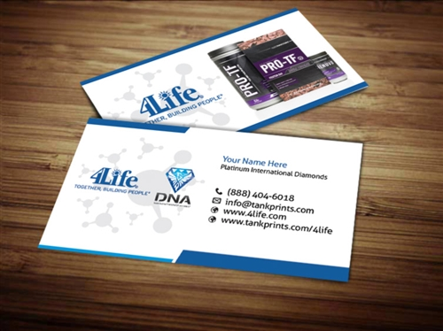 Dna team business card design 2 colourmoves