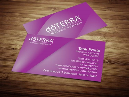 doTERRA business cards 1