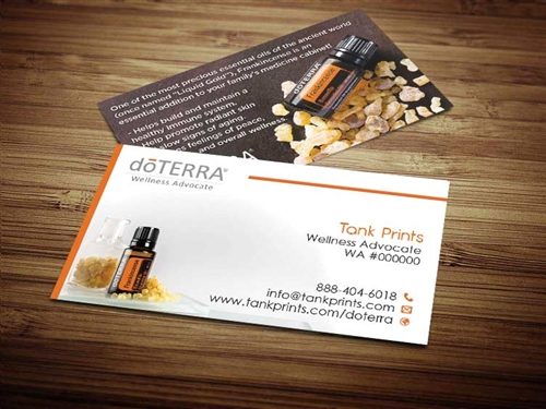 doTERRA business cards 9