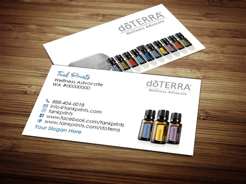 doTERRA compliance approved business cards, Personalized Doterra Business Cards, doTERRA Business Cards, Wellness Advocate Business Card, Essential Oils Cards, Digital Business Cards, doterra vistaprint