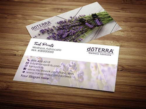 dōTERRA premium business cards, dōTERRA business start up, dōterra advocate cards, dōTERRA cards, doTERRA approved logo, doTERRA marketing