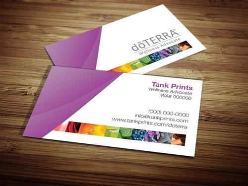 doTerra compliance approved business cards, doterra business cards, doterra doTERRA oils