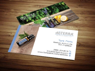 doTERRA business cards 5