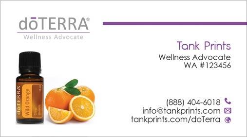 doTerra Business Card Design 6